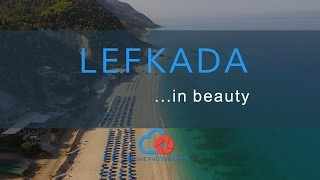 Download Drone above Lefkada and its beautiful beaches Video