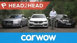 Download BMW 7 Series vs Mercedes S-Class vs Audi A8 2017 | Head2Head Video