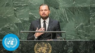 Download Leonardo DiCaprio (UN Messenger of Peace) at the opening of Climate Summit 2014 Video