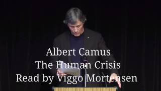 Download The Human Crisis by Albert Camus Video