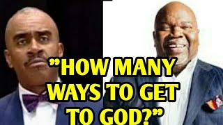 Download Gino Jennings Speaks on TD Jakes | HOW MANY WAYS TO GET TO GOD? Video