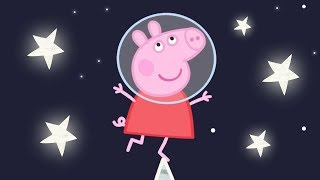 Download Peppa Pig English Episodes | Up in Space with Peppa Pig! Peppa Pig Official Video