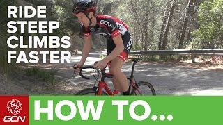 Download How To Ride Steep Climbs Faster | GCN's Cycling Tips Video