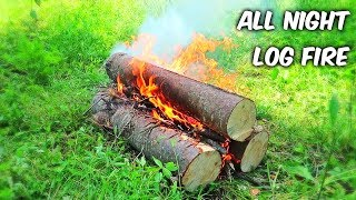 Download All Night Log Fire - Campfire Technique #2 Video