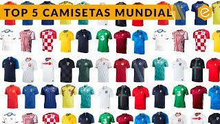 Download MEJORES CAMISETAS DEL MUNDIAL RUSIA 2018 Video