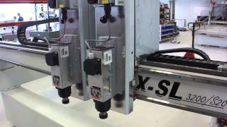 Download CNC Router with double Z axis. Raptor X. Made in Germany. Doppelte Z-Achse. CNC Fräse Video
