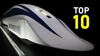 Download 10 Fastest Trains in the World | Max speed 603 km/h (375 mph) Video