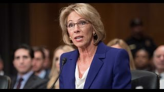 Download Lunatic Trump Secy of Education DESTROYED At Confirmation Hearing Video