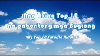 Download My Top 10 Favorite Bugtong(Riddles) Video