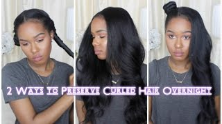 Download 2 Ways to Preserve Curled Hair Overnight Video