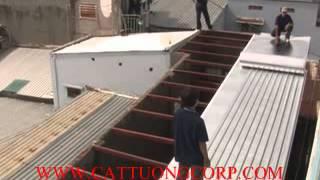 Download lợp chống nóng mái tôn bằng vật liệu cách nhiệt cát tường Video