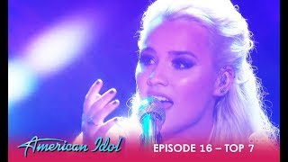 Download Gabby Barrett: WOWS The Judges With Emotional Performance | American Idol 2018 Video