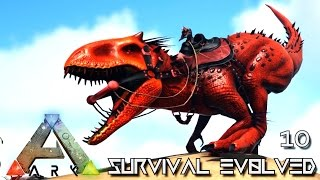 Download ARK: SURVIVAL EVOLVED - NEW INDOMINUS REX PRIMEVAL TAMING !!! E10 (MODDED ARK PUGNACIA DINOS) Video