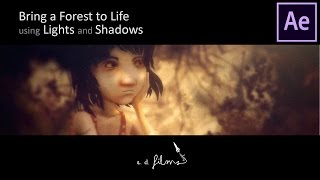 Download How To Bring a Forest to Life with Lights & Shadows in Adobe After Effects   Animation Tutorial Video