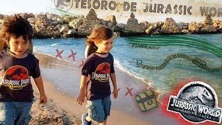Download Juguetes JURASSIC WORLD 2 😱 Fallen Kingdom ENCONTRAMOS EL MAPA DEL TESORO DE JURASSIC WORLD!! Video