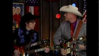 Download Deke Dickerson & Cousin Kenny Vaughan at the Marty Stuart Show Video