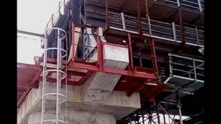 Download Керченский мост сегодня 30.01.2017/ Опорные части моста/ Подъем пролетов. Video