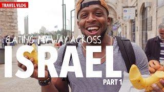 Download Travel Vlog: Eating My Way Across Israel Part 1 of 2 Video