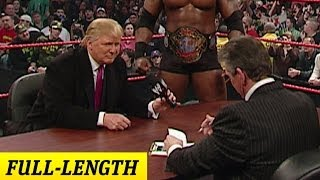 Download Mr. McMahon and Donald Trump's Battle of the Billionaires Contract Signing Video