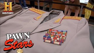 Download Pawn Stars: MILLION DOLLAR Soviet Union Cold War Uniforms (Season 8) | History Video