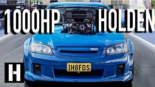 Download 1000hp Big Blower Street Car?? Holden VE Commodore Burnout Car Sings the Song of its People Video