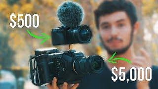 Download $500 Camera vs $5,000 Camera (Blackmagic Ursa Mini 4.6k vs. Panasonic G7) Video