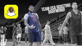 Download Team USA Roasts Draymond Green Over Snapchat D*ck Pic at Practice Video