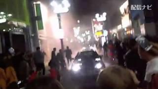 Download 【横山緑】ハロウィン中ホイルスピンで大煙! DQNに警察何も出来ず渋谷が無法地帯に(ニコ生) Video