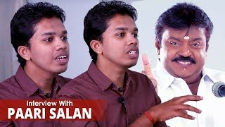 Download தெலுங்கர்கள் எல்லாம் தமிழ்நாட்டை ஆளனும்னு நினைக்கிறாங்க !! Paari Saalan Exclusive Interview Video