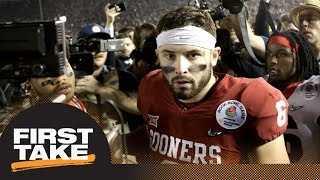 Download Stephen A. and Max debate Baker Mayfield's NFL draft value | First Take | ESPN Video