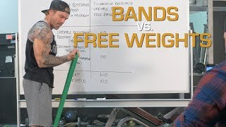 Download Resistance Bands vs Free Weights for Building Muscle Video
