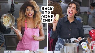 Download Shangela Tries to Keep Up with a Professional Chef | Back-to-Back Chef | Bon Appétit Video