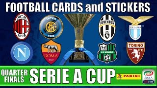 Download QUARTER-FINALS | Football Cards & Stickers SERIE A CUP 2015-16 | Panini ADRENALYN XL Trading Cards Video