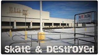 Download Abandoned Big Kmart & Little Ceasars Pizza : Urban Exploration series Skate & Destroyed episode 3 Video