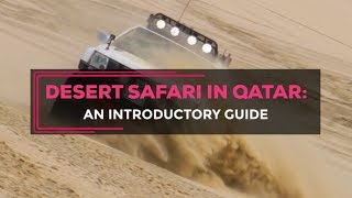 Download Desert Safari in Qatar: How to drive safely Video