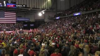 Download LIVE: President Trump in Topeka. KS Video