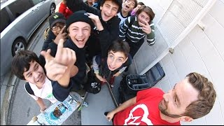 Download WE GOT MOBBED WHILE SKATING! Video