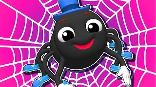 Download ″Incy Wincy Spider″ | Popular Nursery Rhymes by Busy Beavers, Kids Songs, 3D Baby Learning Video