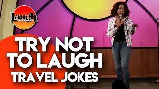Download Try Not to Laugh | Travel Jokes | Laugh Factory Stand Up Comedy Video