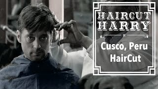 Download The Cusco Haircut without Music - A Traditional Peruvian Barbershop Experience in Cusco, Peru. Video