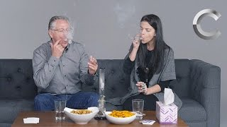Download Parents & Kids Smoke Weed Together for the First Time | Strange Buds | Cut Video