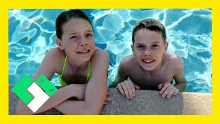 Download KIDS FIRST TIME IN NEW POOL (Day 1807) Video