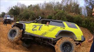 Download Land Rover Defender 90 ''TD5 & V8'' 110 TD5 & Discovery TD5x3 **Extreme offroad day** 19-11-2017 Video
