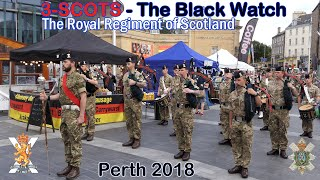 Download The Black Watch parade Perth - Homecoming 2018 [4K/UHD] Video