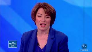 Download Sen. Amy Klobuchar on questioning Brett Kavanaugh about blacking out | The View Video