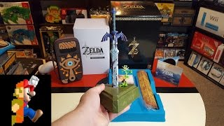 Download Master Edition of Zelda: Breath of the Wild Unboxing Video