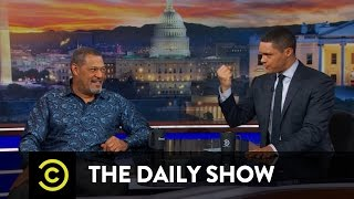 Download Between the Scenes - When Laurence Fishburne Saved Trevor's Life: The Daily Show Video