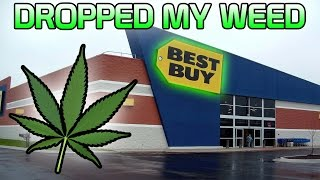 Download Dropping My Weed In Best Buy!? Video