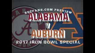 Download 2017 Iron Bowl - Alabama vs Auburn Preview & Predictions - College Football Video