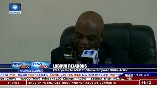 Download Labour Relations: FG Appeals To ASUP To Shelve Proposed Strike Action Video